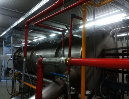 Experimental Combustion Plant
